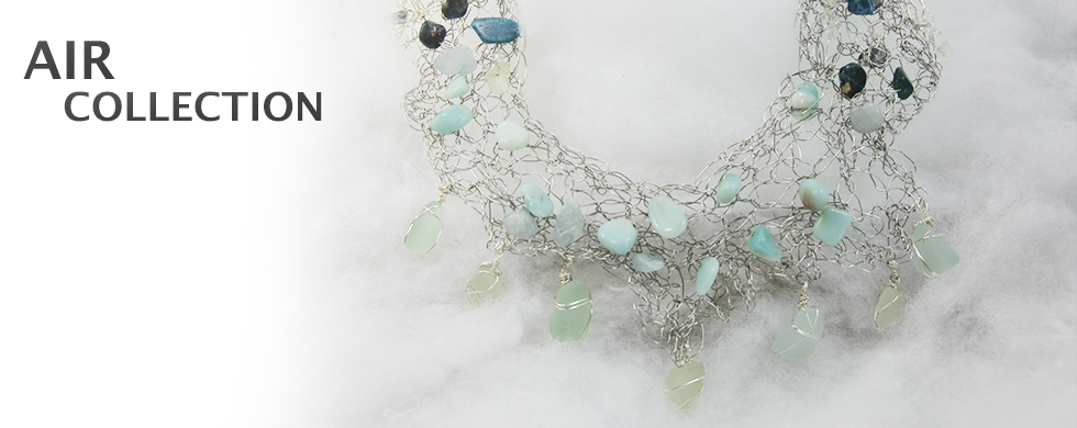 Sea Glass Jewelry from Air Collection